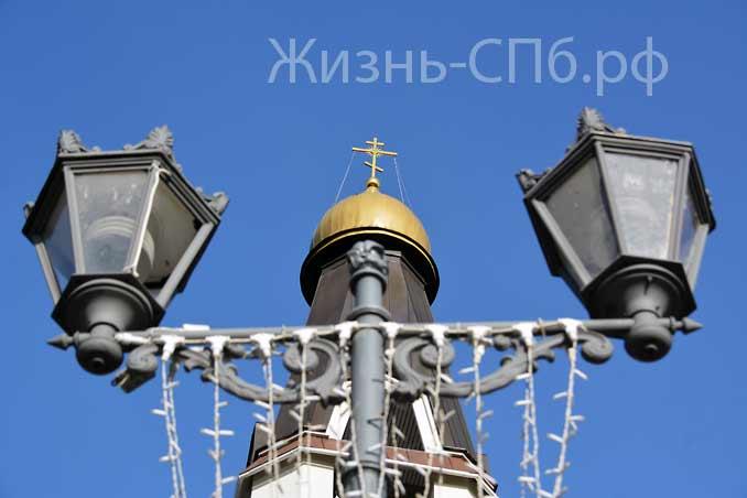 Светильники Петропавловской церкови