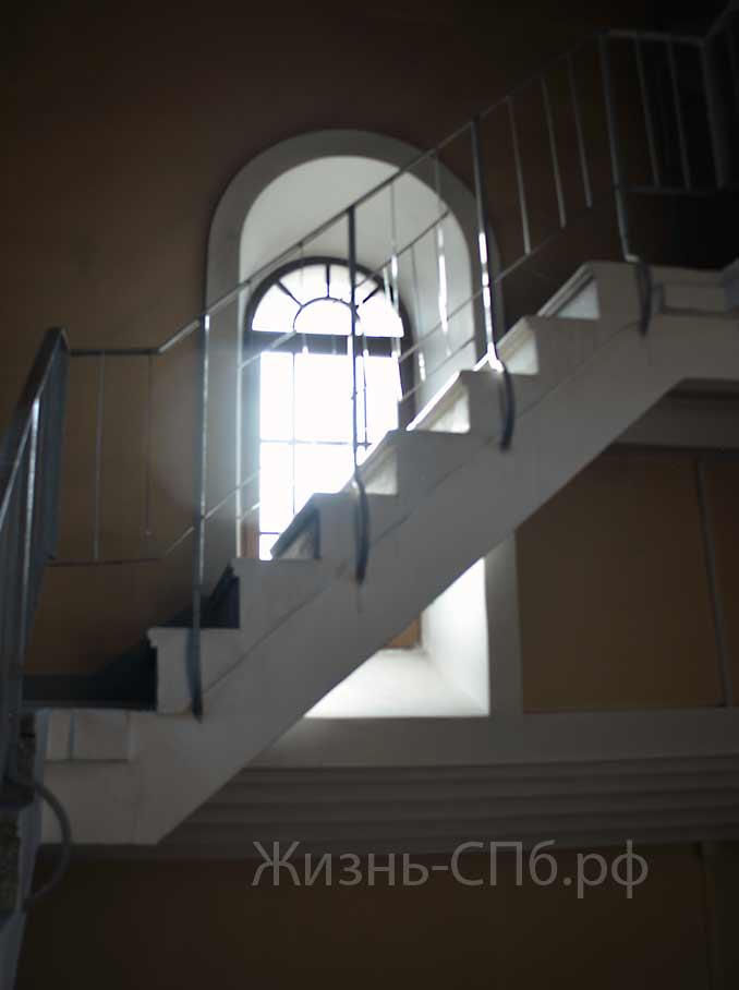 Лестница колокольни Петропавловской-церкови