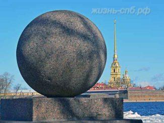 Стрелка Васильевского острова Петербурга - фотопрогулка