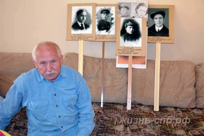 Лебедев Анатолий константинович рассказывает о своих родственниках, воевавших в годы войны. Бессмертный полк