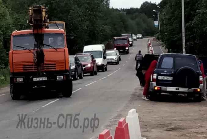 Дорога в Токсово