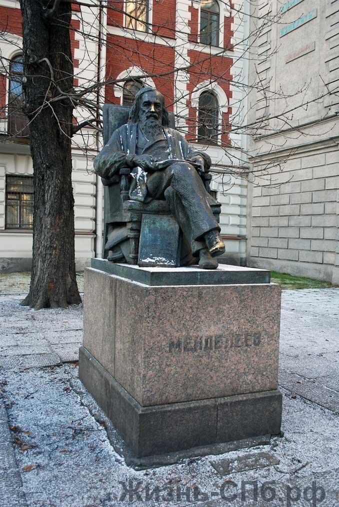 Памятник Д. И. Менделееву на Технологической площади